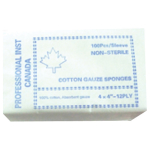 COTTON GAUZE 8PLY (100)PACK 4X4 PROFESSI
