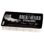 ROCK HARD NAIL XTENSIONS (500) CLEAR ART