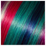 "Babe 18"" I-Tip Straight Funky Colors Assorted (20)"