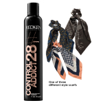 Redken Control Addict 28 Extra High-Hold Hair Spray + Free Hair Scarf