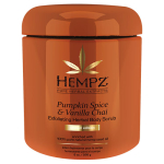 Hempz Limited Edition Pumpkin Spice and Vanilla Chai Herbal Exfoliating Body Scrub 8oz