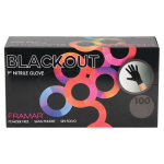 Framar Blackout Nitrile Gloves (100pk.) Medium