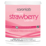 Caronlab Deluxe Strawberry Creme Microwavable Strip Wax 800g