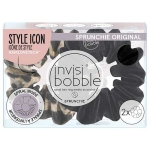 Invisibobble Sprunchie 2PC True Black Purrfection