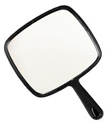 HAND MIRROR BLACK 0336 DANNYCO