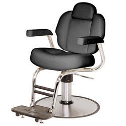 Belvedere Seville Barber Chair B61S Black RD12BC