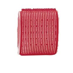 MAGIC-6 65MM RED VELCRO ROLLERS (6) DANN