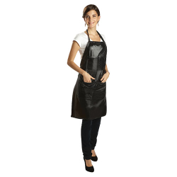 56 BLACK ALL-PURPOSE PLASTIC APRON DANNY