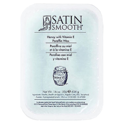 Satin Smooth Honey And Vitamin E Paraffin 1LB