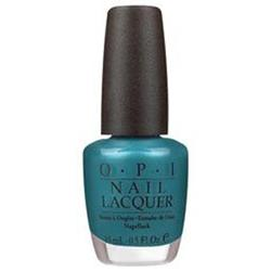 OPI TEAL THE COWS COME HOME  1/2OZ