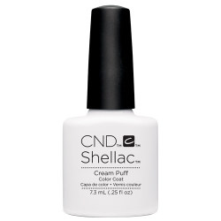 Creative Nail Design Shellac Cream Puff UV Color Coat