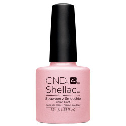 Creative Nail Design Shellac Strawberry Smoothie UV Color Coat