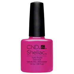 Creative Nail Design Shellac Tutti Fruitti UV Color Coat