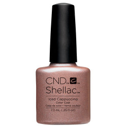 Creative Nail Design Shellac Iced Cappacinno UV Color Coat