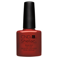 BRICK KNIT SHELLAC UV COLOR CND