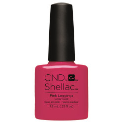 PINK LEGGINGS SHELLAC UV COLOR COAT CND