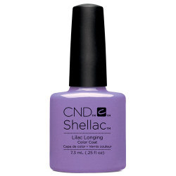 SPRING LILAC SHELLAC UV COLOR COAT CND