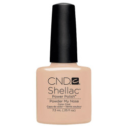POWDER MY NOSE SHELLAC UV COLOR COAT CND