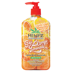 Hempz Goji Orange Lemonade Herbal Body Moisturizer 17oz
