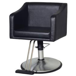 Belvedere Look Styler Hydraulic Chair PSLK12-BL Black