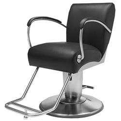 Takara Belmont Maccow Hydraulic Styling Chair SUD51CSLSt Black