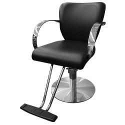 PRISMO STYLING CHAIR W/T-REST STNLSS BAS