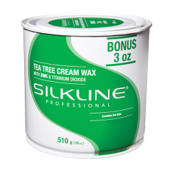 18OZ TEA TREE WAX SILKLINE SL18TREEC DAN