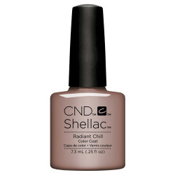 RADIANT CHILL SHELLAC UV COLOR COAT CND