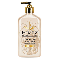 Hempz Limited Edition Sugar Spun & Vanilla Body Herbal Body Moisturizer 17oz